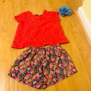 Other - Girl's Top and Shorts set